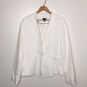 Willi Smith White Blazer with Button SzM